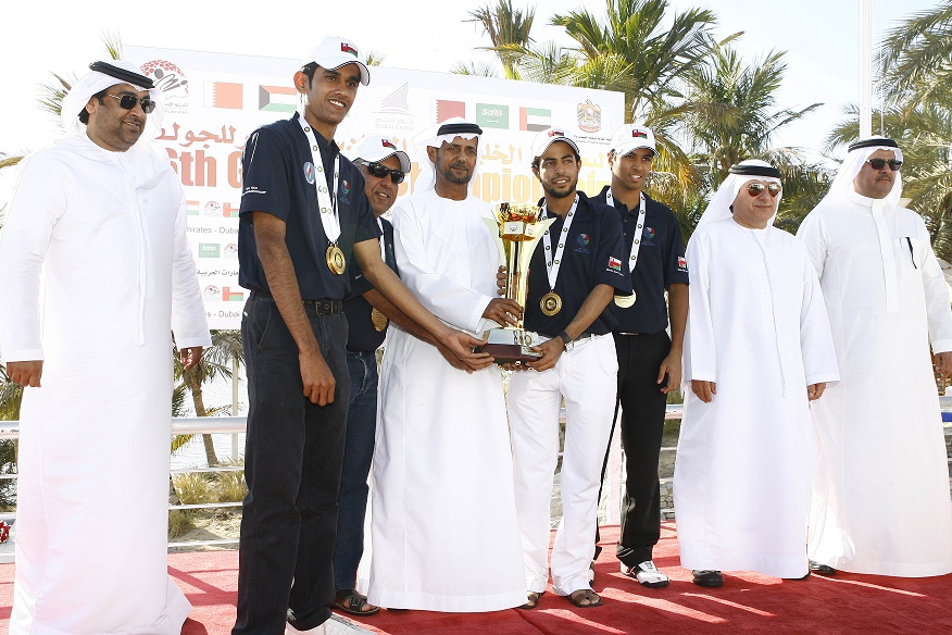 GCC Arab Golf Tournament for Men and Young -  12th - UAE